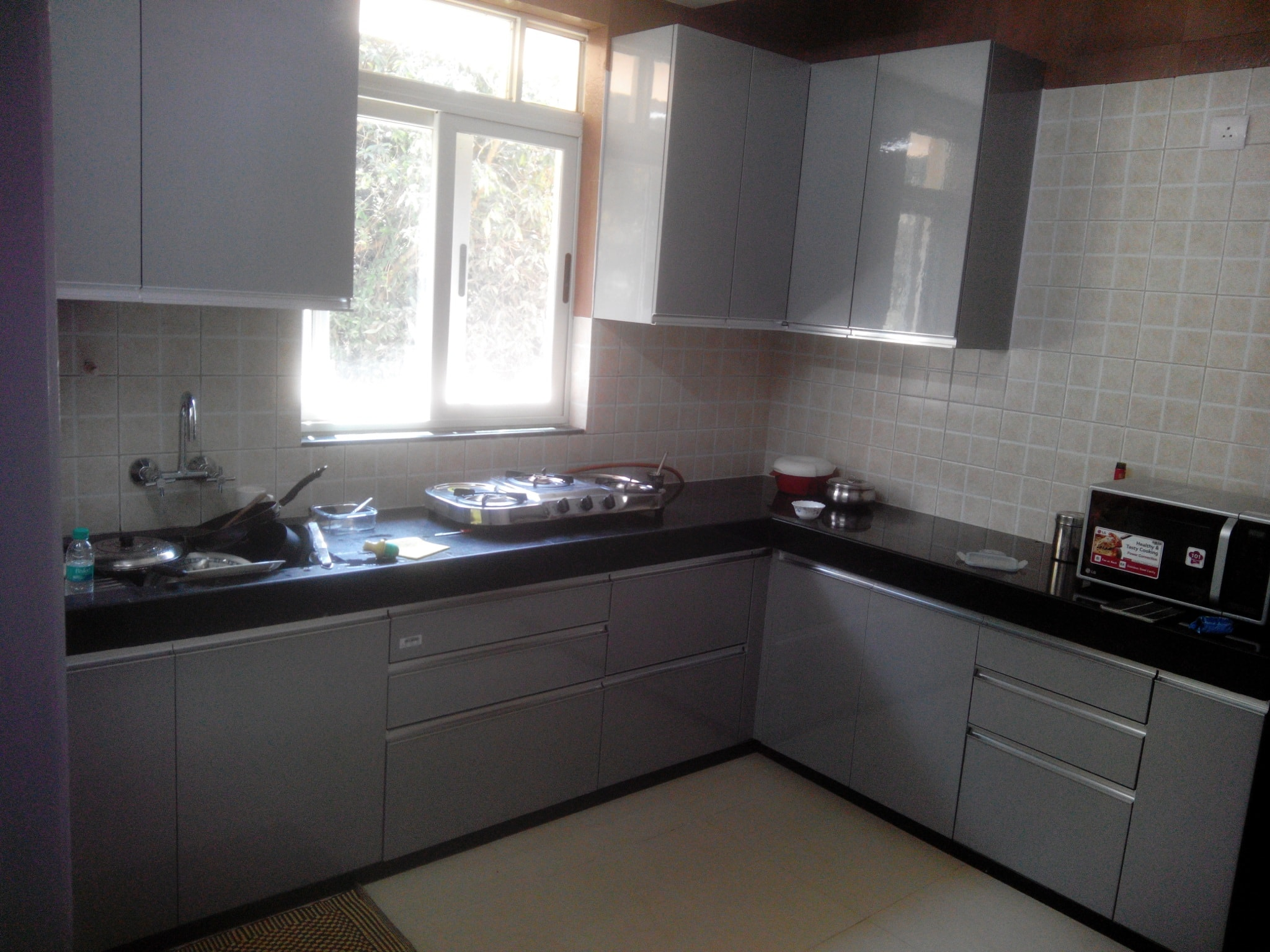 L Shaped Kitchen Designer In Pune L Shaped Kitchen
