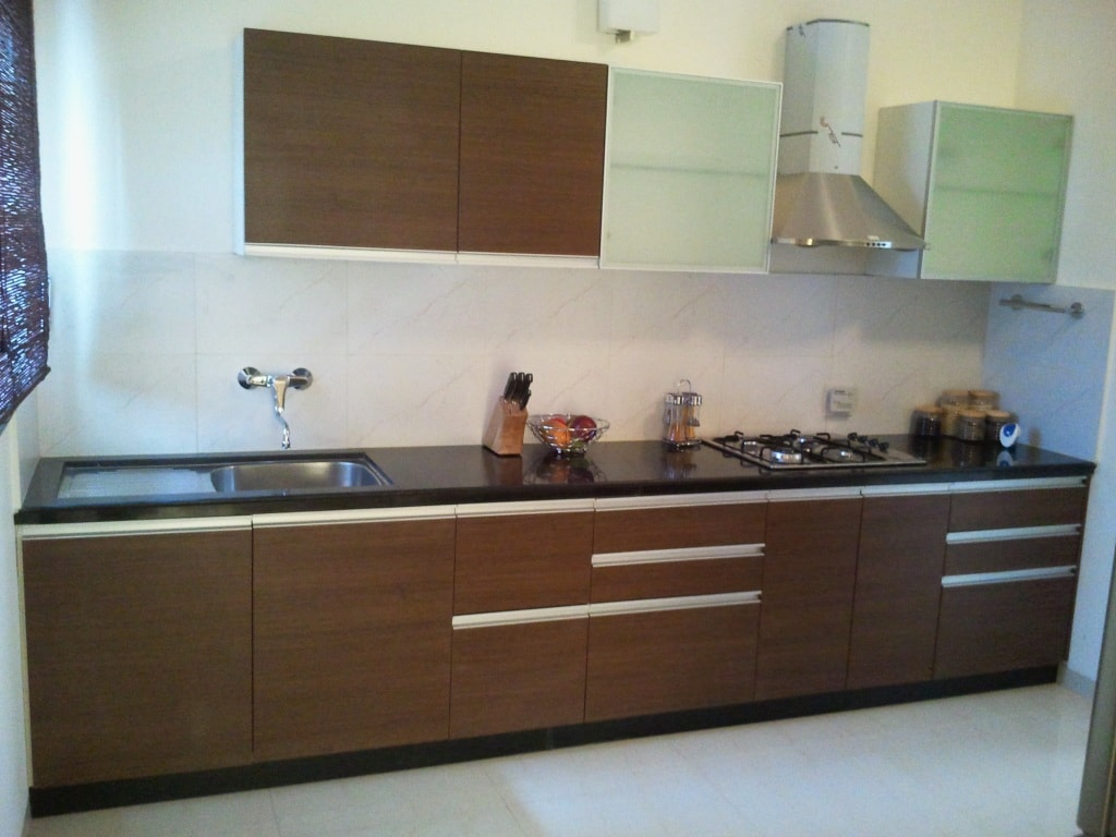 Indian Parallel Kitchen Interior Design