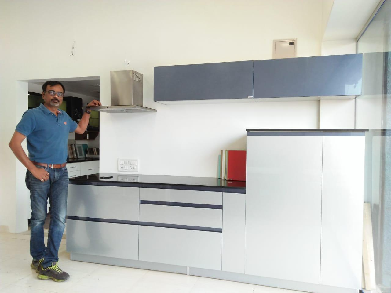 Mr Naresh Patil Bella Kitchens modular kitchen manufacturers in pune